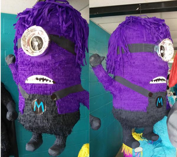 Purple Minions Disney Pixar Pinata
