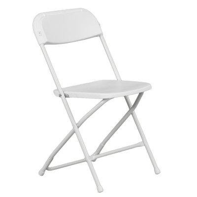 Hercules Plastic Folding Chair Rental
