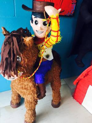 Disney Toy Story Woody on horse pinata