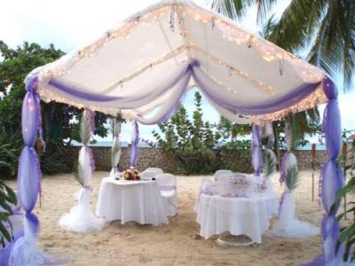 Decorated Tent Rental
