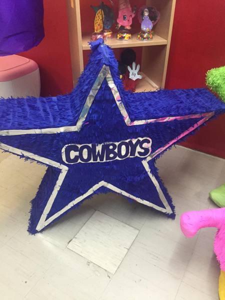 Dallas Cowboys Star Pinata