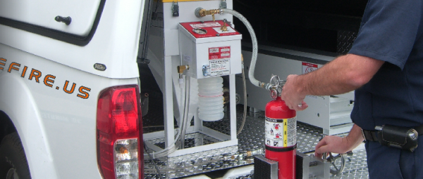 Alliance Fire Protection - Fire Extinguisher Services, Inspection, and Maintenance. Fire Extinguishers, Chemical, Mounting Brackets and Fire Extinguisher Signs.