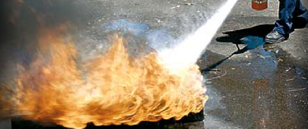 Alliance Fire Protection Fire Extinguisher Safety Training as required by OSHA