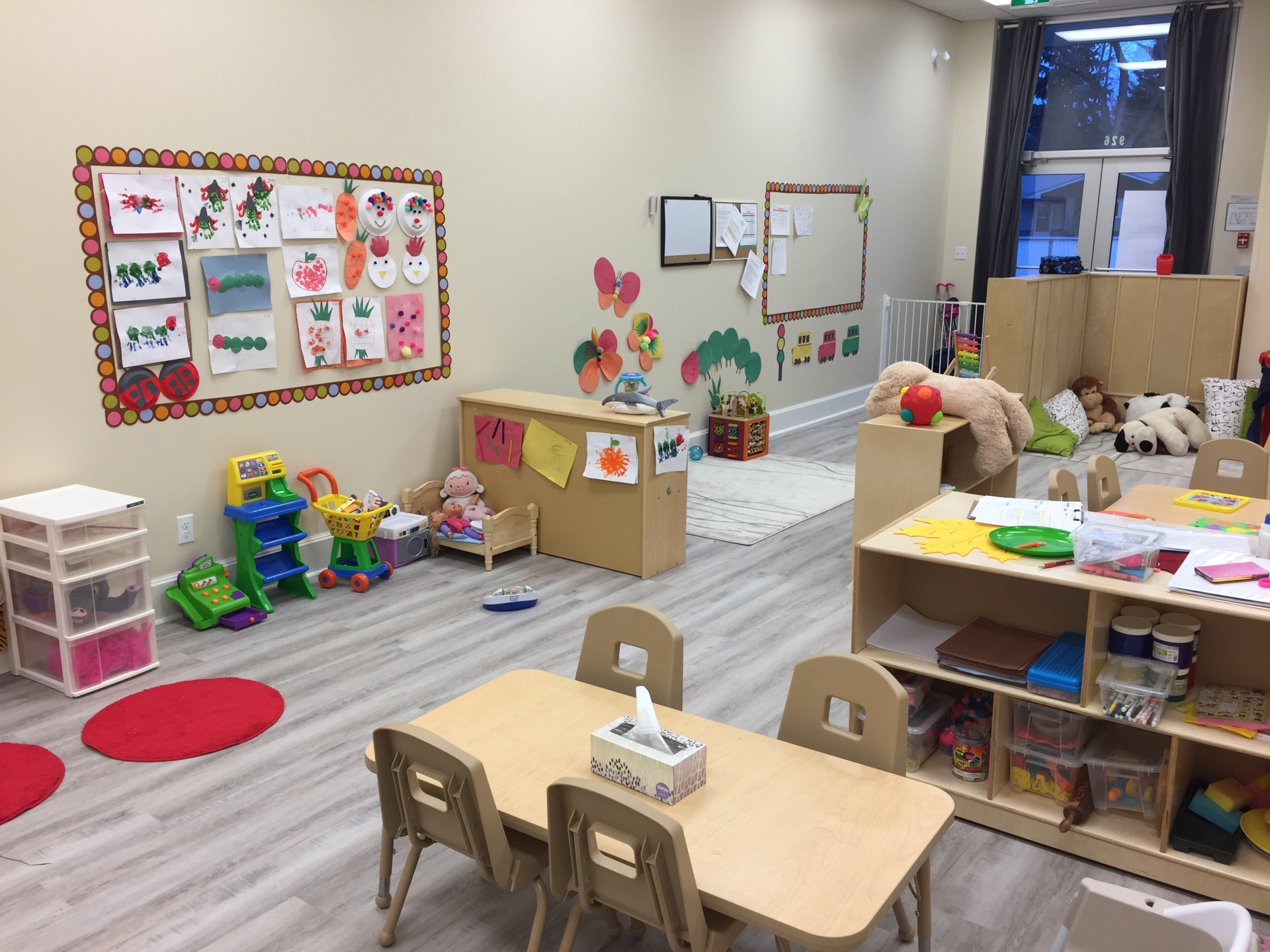 Learning Centres and Play Spaces