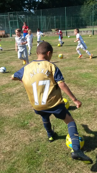 ABC Soccer School - Skills and Creativity