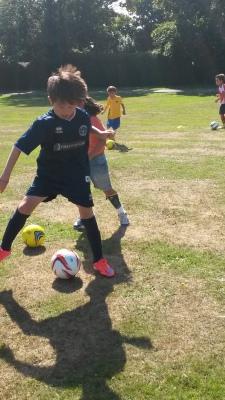 ABC Soccer School - Agility