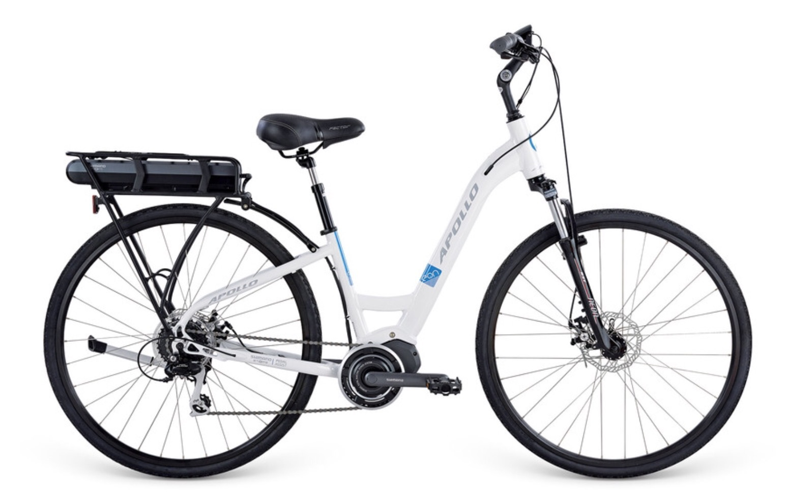 Electric Bikes - Apollo ebike step thru - 0417400040
