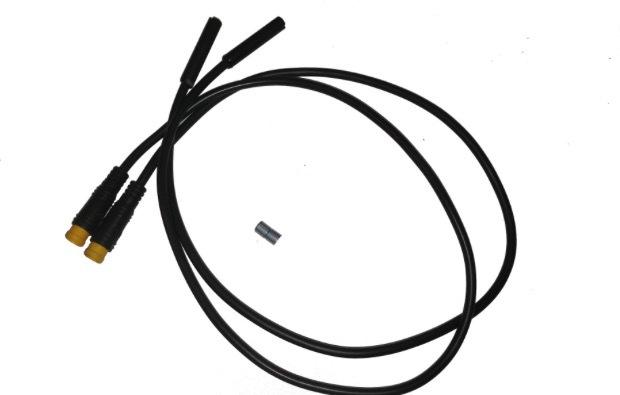 Cut off brake sensor cables