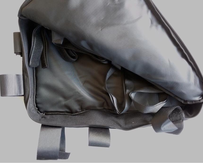 Triangle soft bag