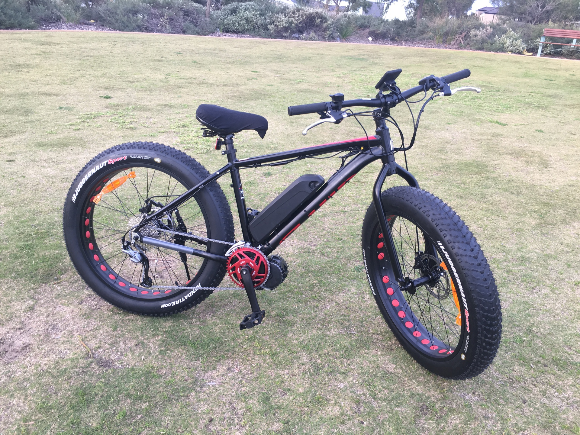 Electric Bikes - Mud slinger - 0417400040