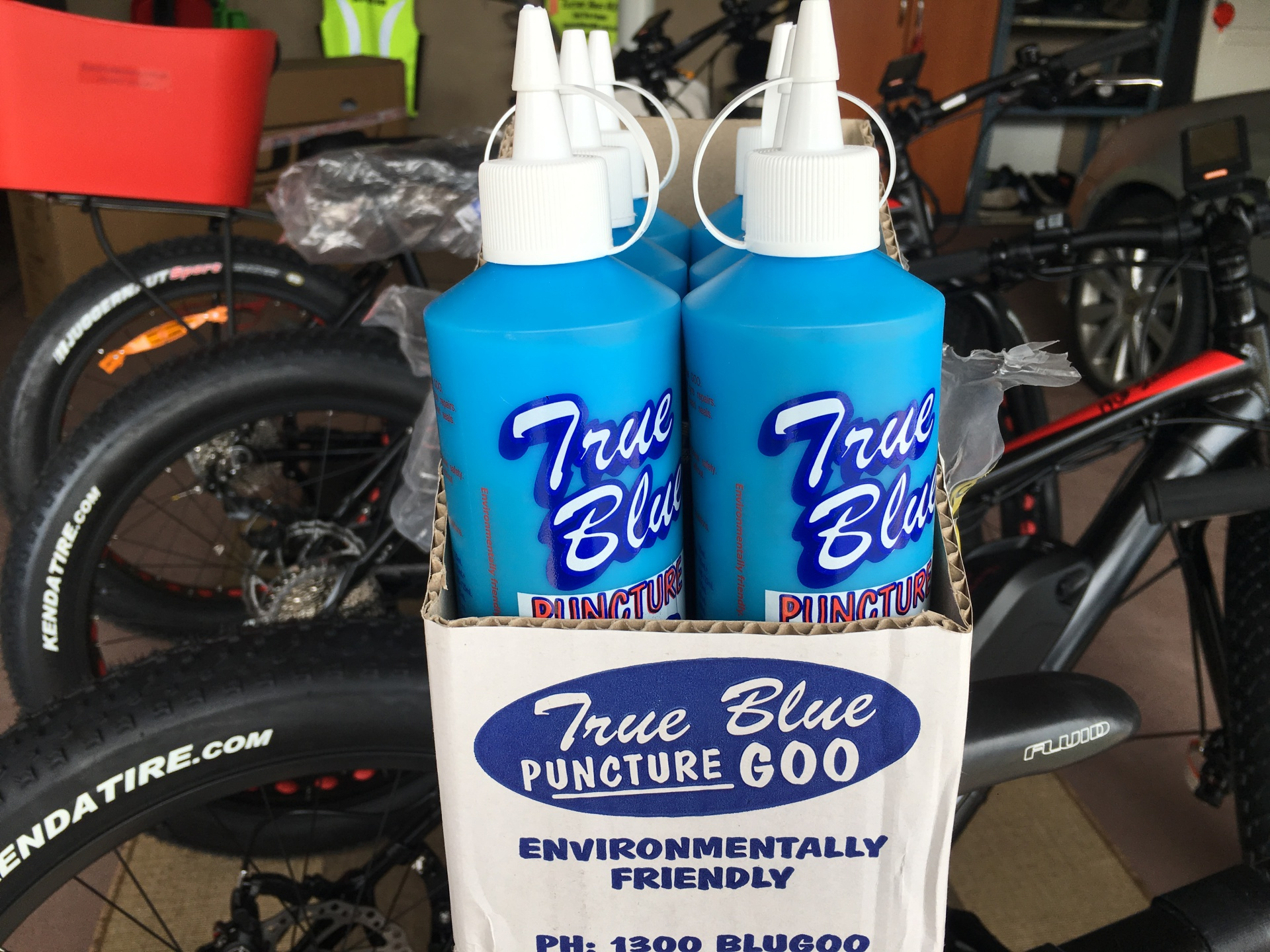 Electric Bikes - Tyre Puncture Repair Goo - 0417400040