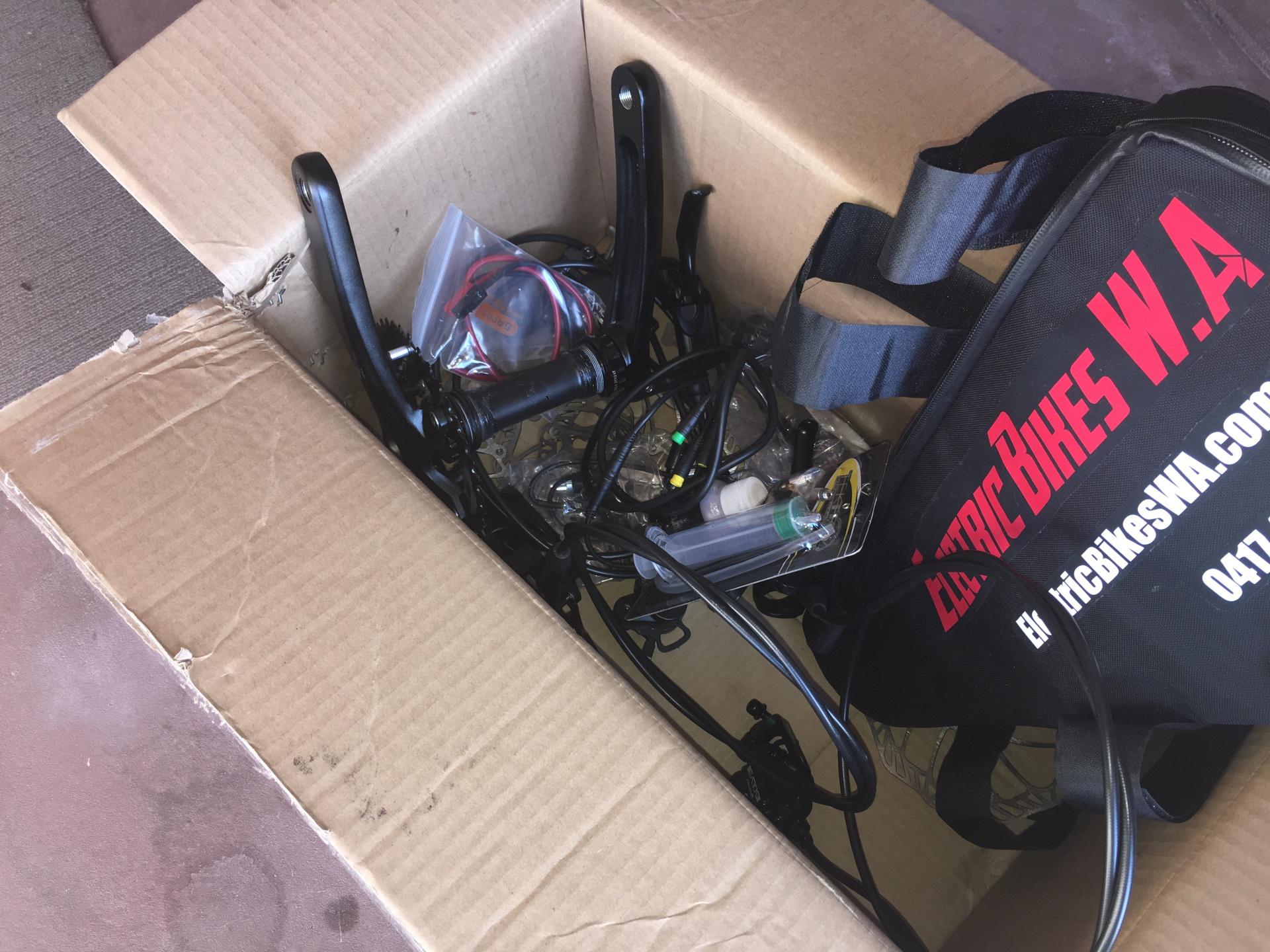 Electric Bikes - Bargain Box - 0417400040