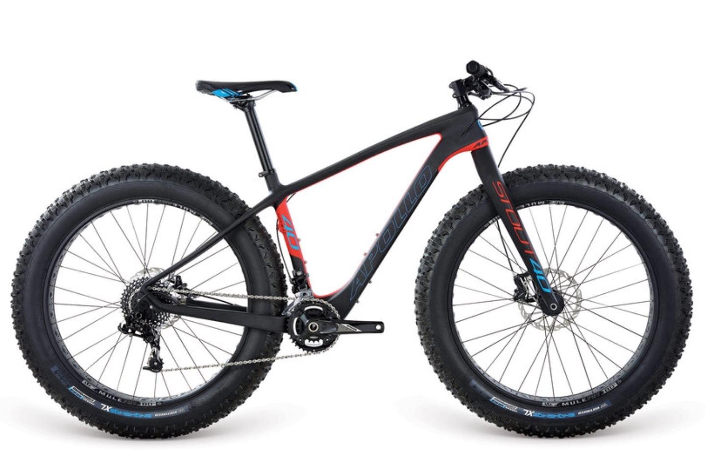 Electric Bikes - Apollo Stout 40 - 0417400040