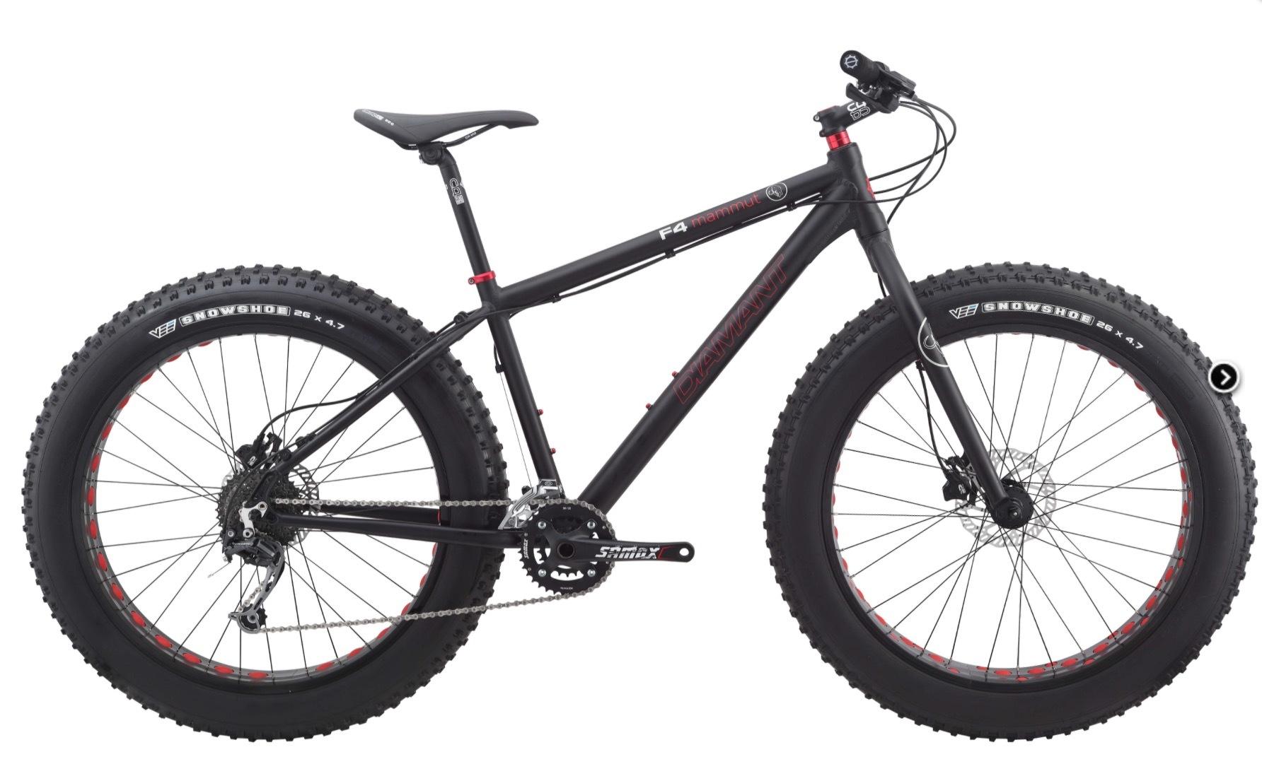 Electric bikes - Diamant F4 Fat Bike - 0417400040
