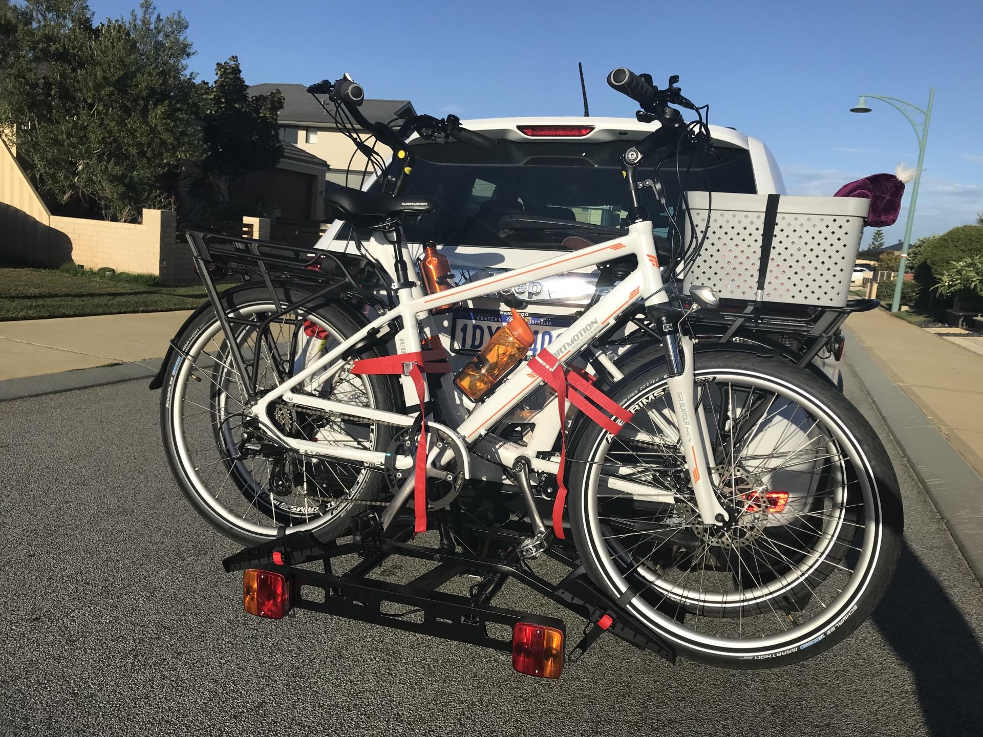 Electric Bikes - Custom made Bike Racks - 0417400040