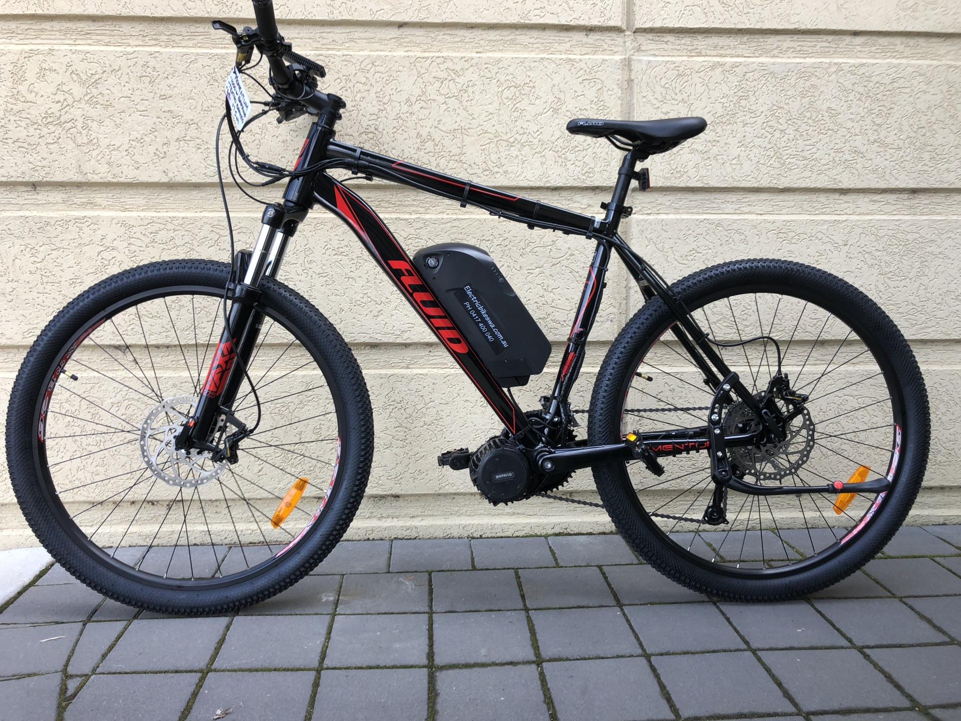 Electric Bikes - Apollo stout 20 fat bike - 0417400040