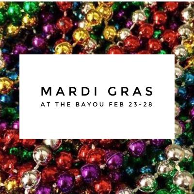 31st ANNUAL MARDI GRAS CELEBRATION!