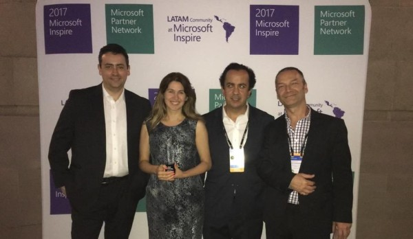 Celebrating U-Planner Microsoft 2017 Global Partner Award!