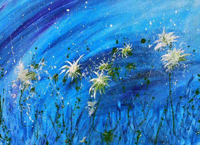 Flower Splatter Workshop
