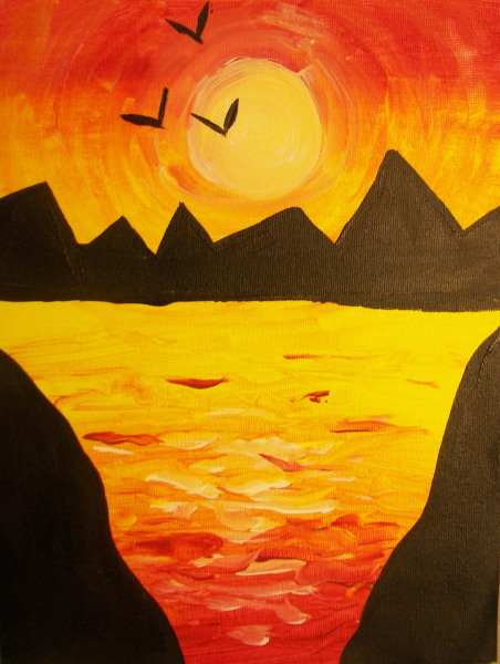 ALL AGES: Mountain Sunset