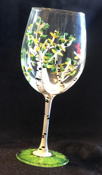Spring Birch Glass