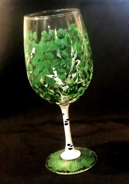 Summer Birch Glass