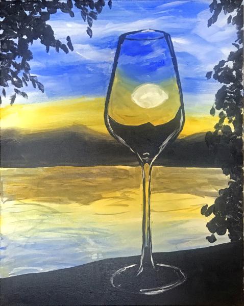 Wine at the Lake