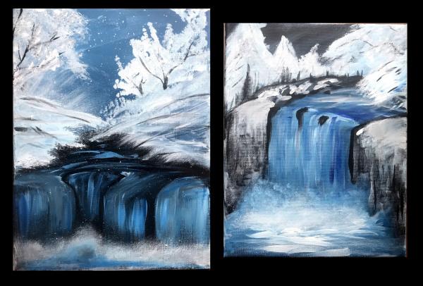 Winter Waterfall Workshop Encore