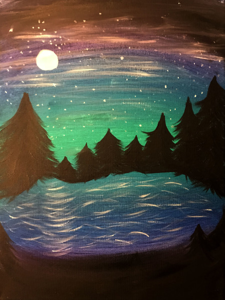 Starry Pines