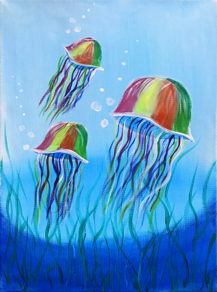 Rainbow Jellyfish