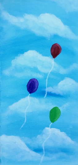 Balloons in the Sky!