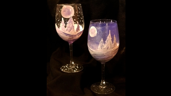 Winter Wonderland Glass Set
