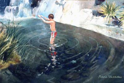 Sitting Bull Falls-New Mexico 9