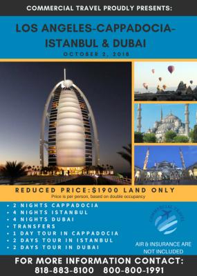 ISTANBUL & DUBAI