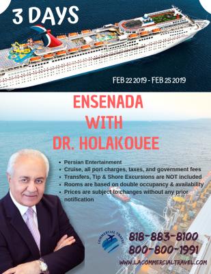 ENSENADA WITH  DR. HOLAKOUEE
