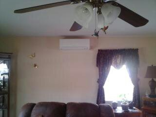Mini Split Unit in Living Area, We install Fujisu  33 seer systems