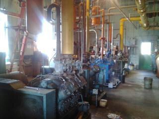 Refrigerator remote condenser plant