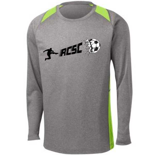 5ST361LS Heather Contender Long Sleeve Tee $18.00