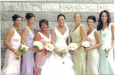 Be sure your bridesmaids look gorgeous by choosing the right dresses for them!