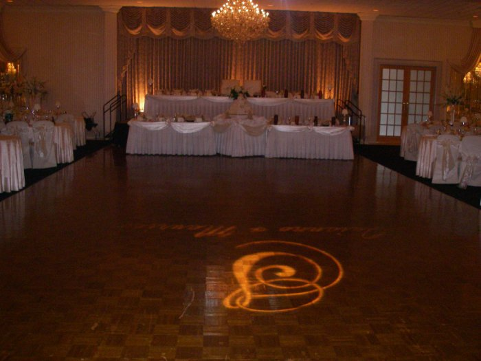When planning your wedding, consider lighting!
