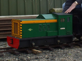 Petrol driven Diesel Shunter