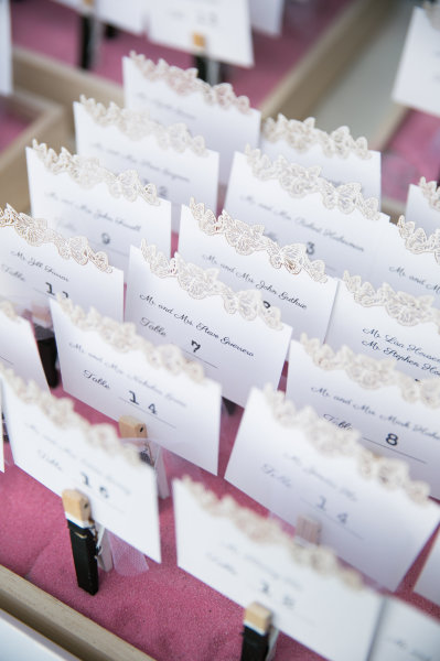 Escort Cards..just pin it!