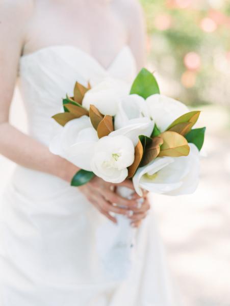 Magnolias Bride's Bouquet