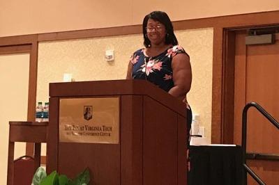 Karen E. Jones, Political Action Chair