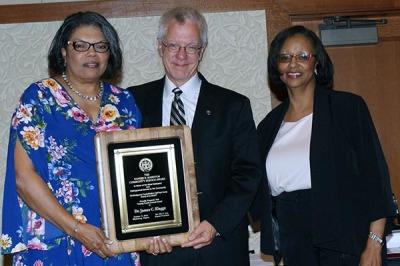 DyAnne Penn, Dr. James Klagge - recipient, Deborah H. Travis
