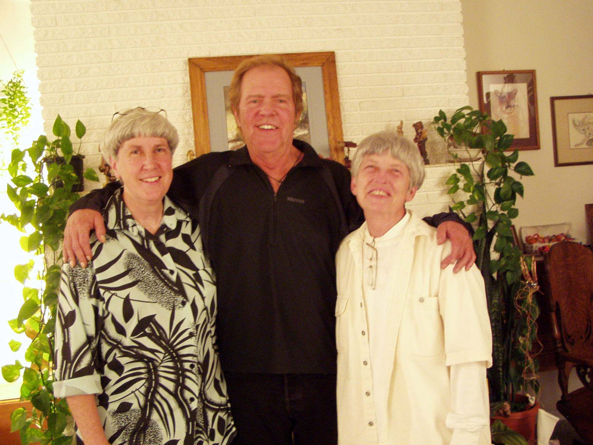 Corlie, Michael and Gayle after the concert