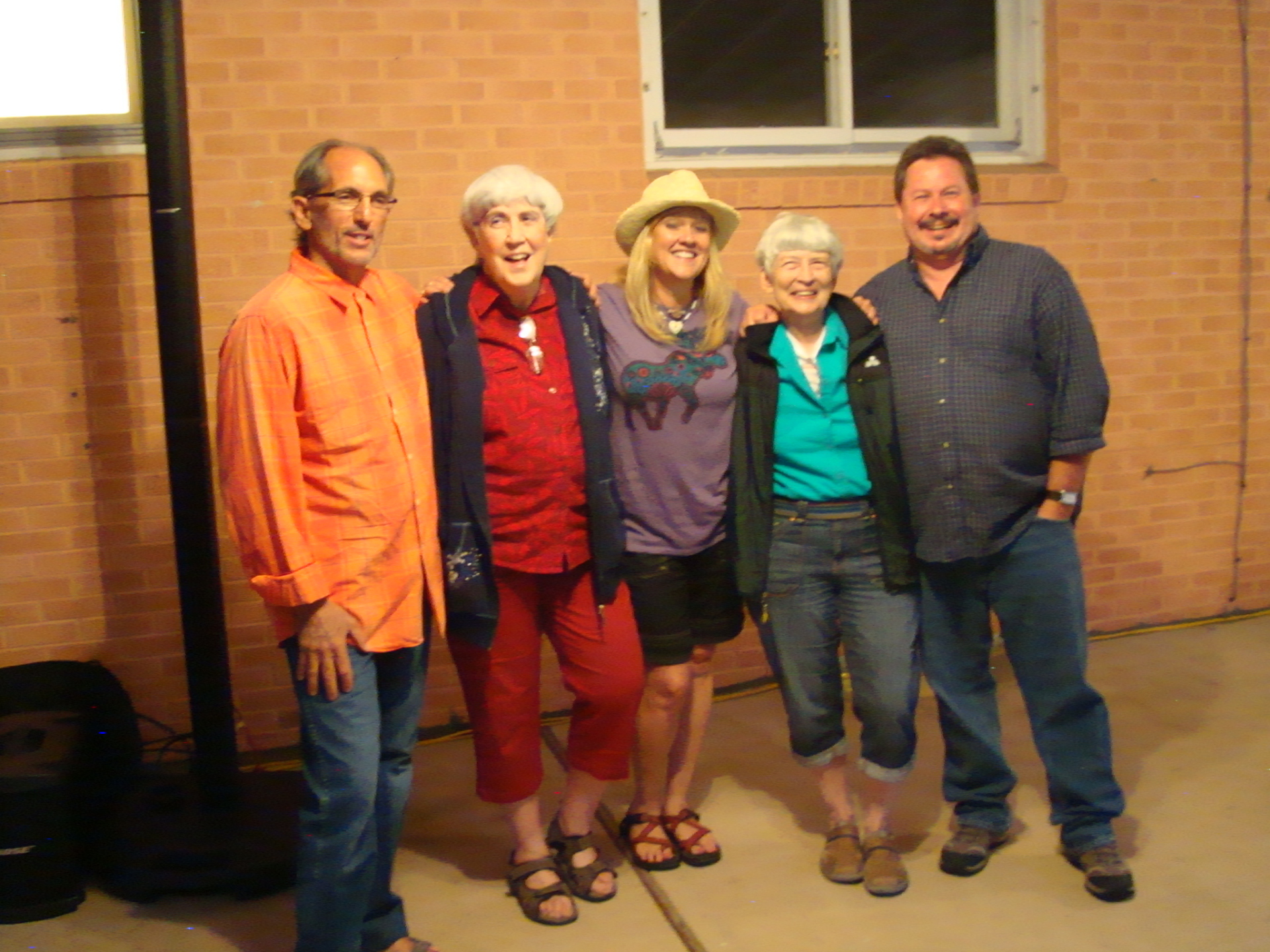 Don, Corlie, Mary, Gayle & Tony after the concert