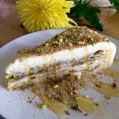 Baklava Ice Cream Cake