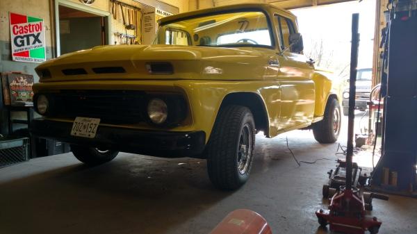 1962 Chevy Stepside Pickup