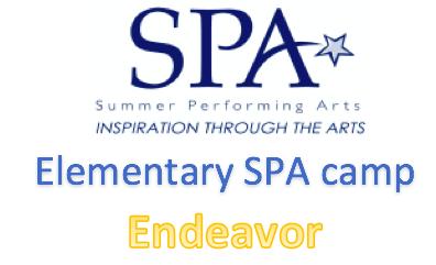 Endeavor Elementary SPA Camp